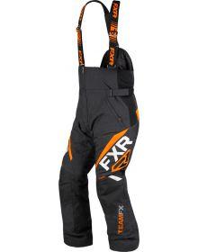 FXR Team FX Pant Black/Orange