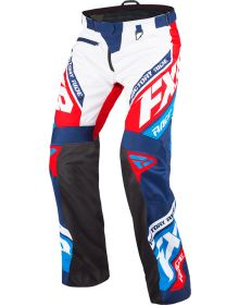 FXR Cold Cross RR Pants Navy/White/Red/Blue