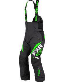 FXR Team FX Pant Black/Lime
