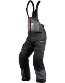 FXR Excursion Ice Pro Bib Charcoal/Black/Orange