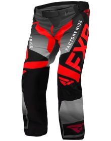 FXR Cold Cross RR Pant Red/Black/Charcoal
