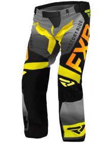 FXR Cold Cross RR Pant Hi Vis/Black/Orange/Grey