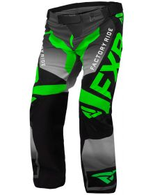 FXR Cold Cross RR Pant Lime/Black/Charcoal