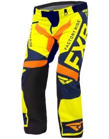 FXR Cold Cross RR Pant Hi Vis/Navy/Orange