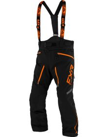 FXR Mission FX Pant Black/Orange