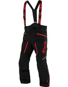 FXR Mission FX Pant Black/Red