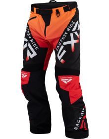 FXR Cold Cross RR Pant Black/Red