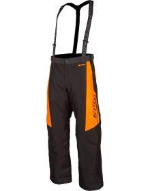 Klim Kaos Snowmobile Pant Black/Strike Orange