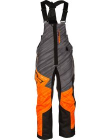 509 Range Insulated Snowmobile Bib Orange