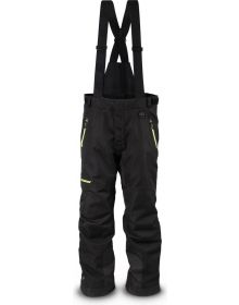 509 R-200 Insulated Bib - Black with Lime