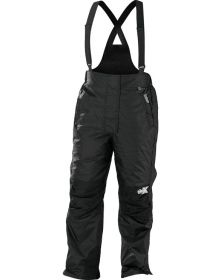 Castle X CR2 Womens Snowmobile Bibs Black