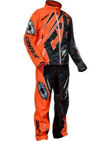 Castle X R18 Race Pant Alpha Black/Orange