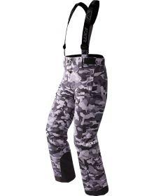 FXR Squadron Youth Pants Grey Urban Camo