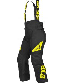 FXR Clutch Child Pants Black/Hi Vis