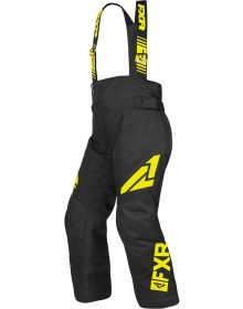 FXR Clutch Youth Pants Black/Hi Vis