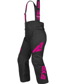 FXR Clutch Youth Pants Black/Fuchsia