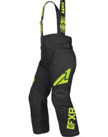 FXR Clutch Youth Pants Black/Lime