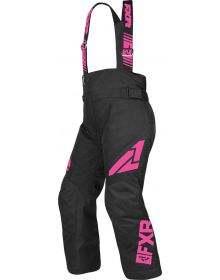FXR Clutch Youth Pants Black/Elec Pink