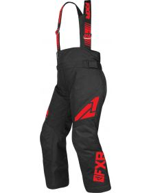 FXR Clutch Youth Pants Black/Red