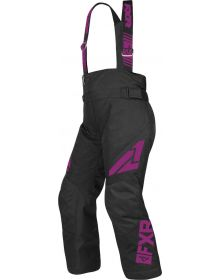 FXR Clutch Child Pants Black/Wineberry