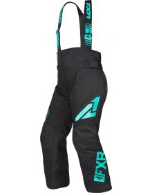 FXR Clutch Youth Pants Black/Mint