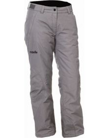Castle X Bliss Womens Snowmobile Pants Light Gray