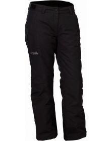 Castle X Bliss Womens Snowmobile Pants Black