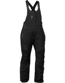 Castle X Tundra Womens Snowmobile Bibs Black
