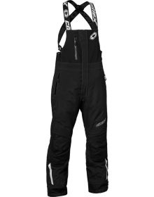 Castle X Polar Womens Snowmobile Bib Black