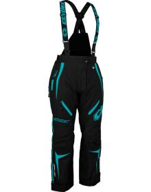 Castle X Fuel G7 Womens Snowmobile Pant Black/Turquoise