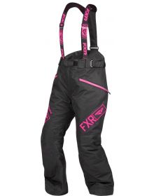 FXR Fresh Womens Pants Black/Elec Pink