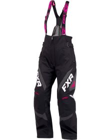 FXR Adrenaline Womens Pant Black/Charcoal/Fuchsia