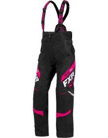 FXR Team Womens Pant Black/Fuchsia
