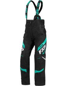 FXR Team Womens Pant Black/Mint