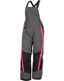 Klim 2021 Strata Womens Bib Asphalt/Knockout Pink