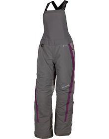 Klim 2021 Strata Womens Bib Asphalt/Deep Purple