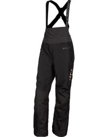 Klim 2021 Alpine Womens Bib Black/Rose Gold