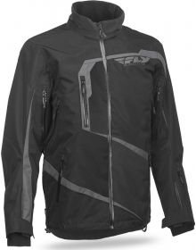 Fly Racing Carbon Snowmobile Jacket Black/Grey