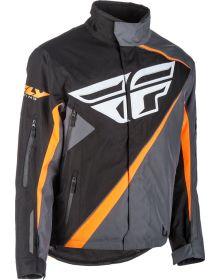 Fly Racing SNX Pro Snowmobile Jacket Black/Orange