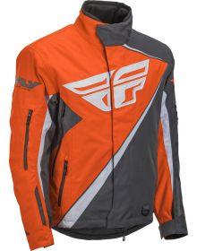 Fly Racing 2019 SNX Snowmobile Jacket Orange/Black