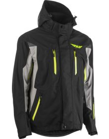 Fly Racing 2020 Incline Snowmobile Jacket Black/Grey