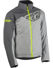Fly Racing 2020 Aurora Snowmobile Jacket Charcoal/Grey