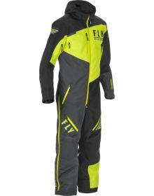 Fly Cobalt Shell 1pc Monosuit Black/Grey/Hi-Vis