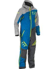 Fly Cobalt Shell 1pc Monosuit Blue/Grey/Hi-Vis