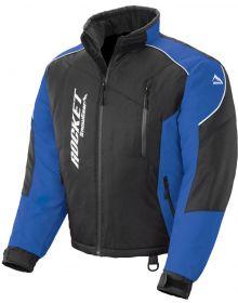 Rocket Snow Gear Mens Storm XC Snowmobile Jacket Black/Blue
