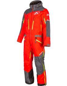 Klim Lochsa One-Piece Monosuit Asphalt/High Risk Red