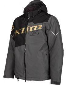 Klim Instinct Snowmobile Jacket Black/Metallic Gold