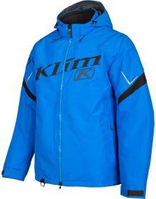 Klim Instinct Snowmobile Jacket Electric Blue Lemonade/Black