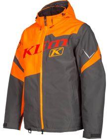 Klim Instinct Snowmobile Jacket Strike Orange/Asphalt