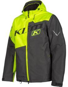 Klim Instinct Snowmobile Jacket Hi-Vis/Asphalt